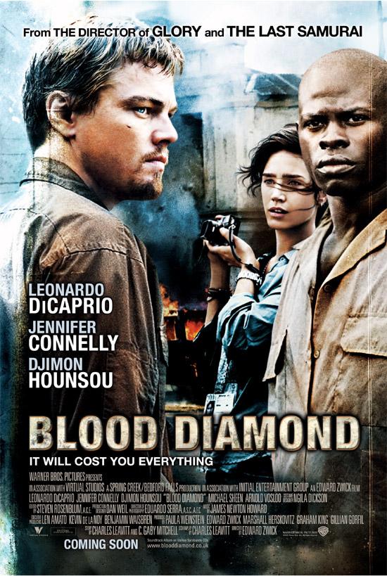Poster de Diamante de Sangre